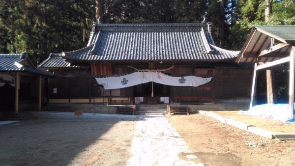 坂城神社拝殿