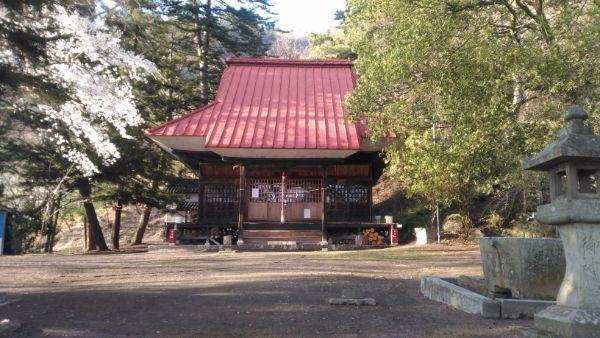 白山比咩神社拝殿