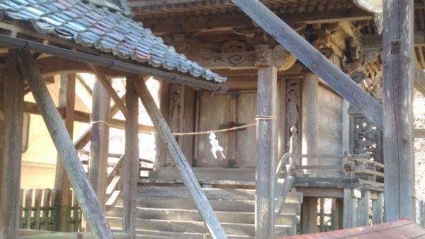 白山比咩神社本殿の母屋正面