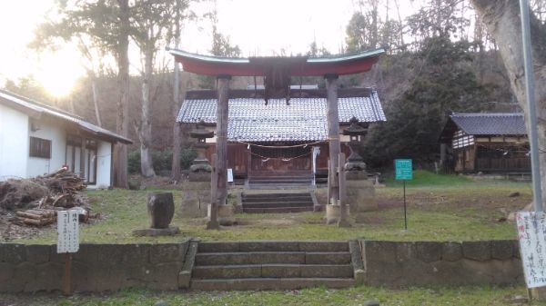 東條健代神社の鳥居