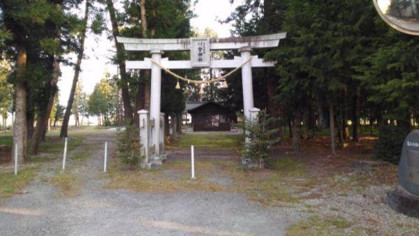 川会神社入口