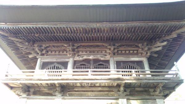山門の2階