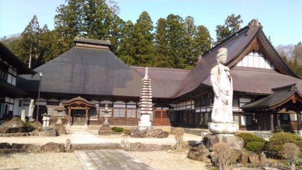 長谷寺本堂と庫裏