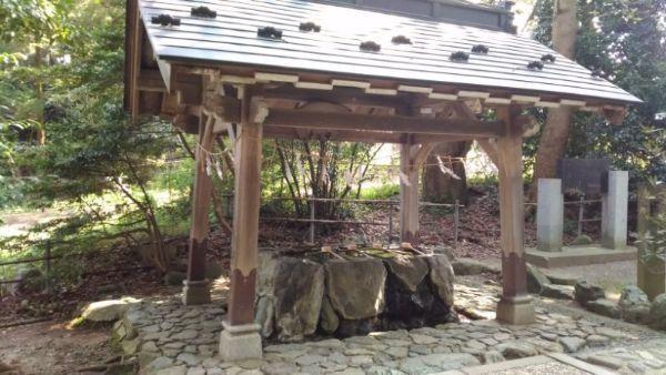 天津神社手水舎