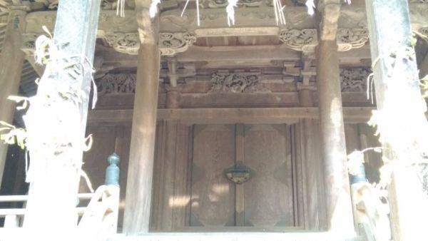 天津神社本殿の母屋