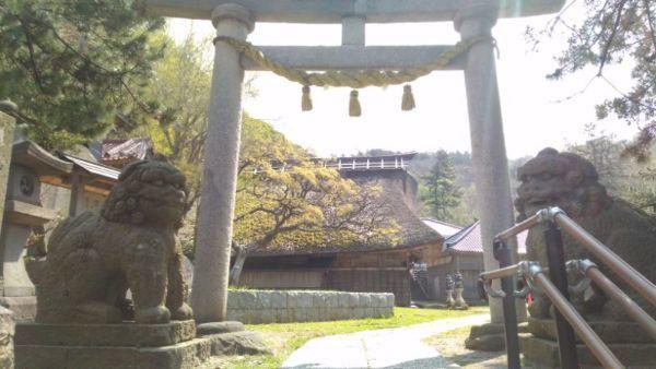 白山神社二の鳥居