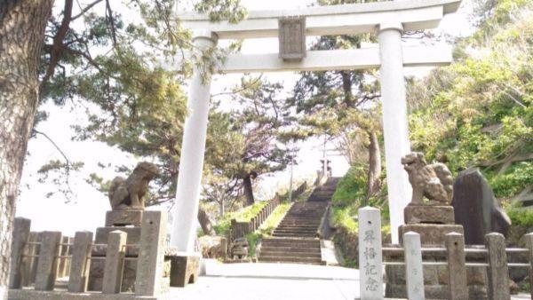 江野神社入口