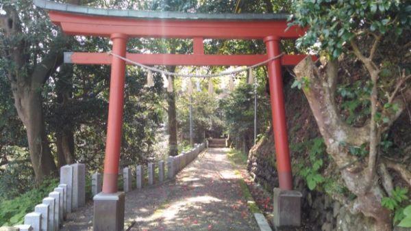 江野神社参道