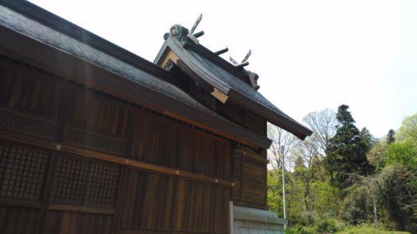 居多神社社殿