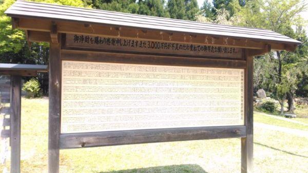 居多神社の看板