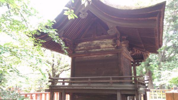 高良神社背面