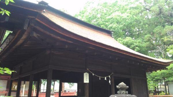 若宮八幡神社拝殿