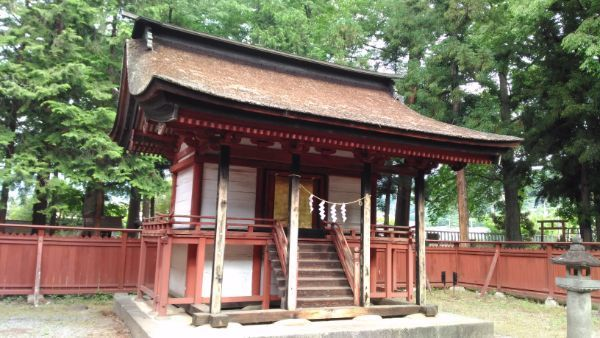 若宮八幡神社本殿