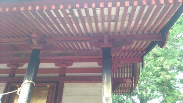 若宮八幡神社本殿向拝