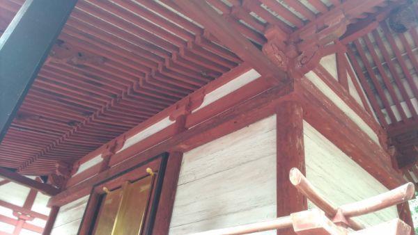 若宮八幡神社本殿の母屋