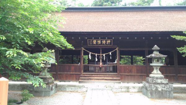 窪八幡神社拝殿