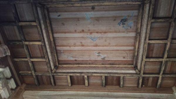 山門の天井
