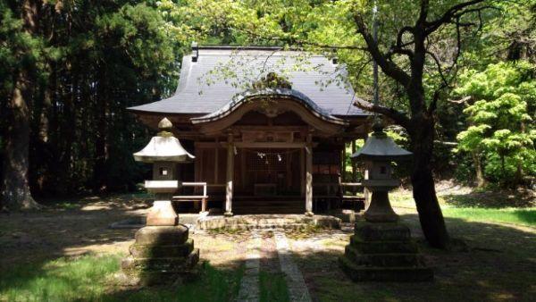 五十君神社拝殿