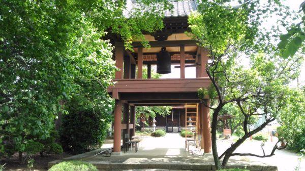 清白寺鐘楼門