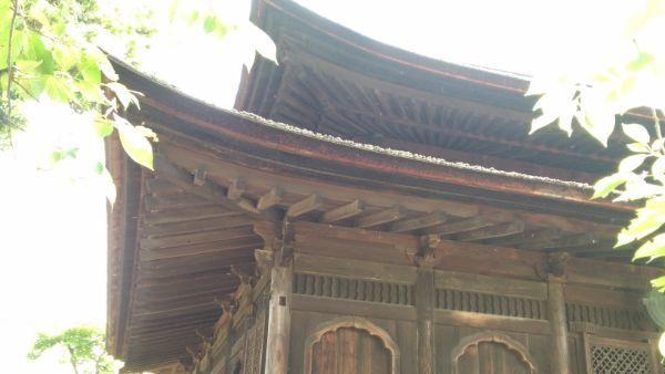 仏殿の軒裏
