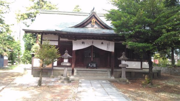 大井俣神社拝殿