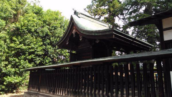 大井俣神社本殿