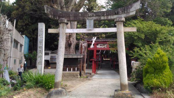 菅田天神社入口