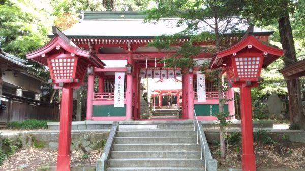 菅田天神社随神門