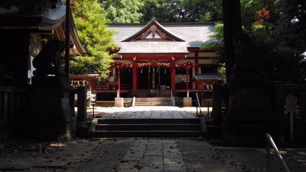 菅田天神社拝殿