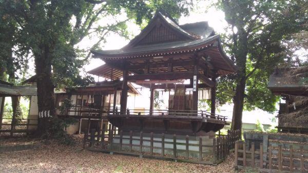 菅田天神社神楽殿