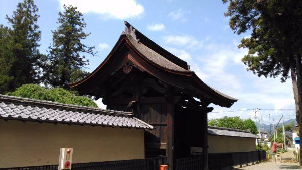 中門の屋根