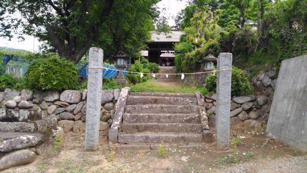 中牧神社の入口