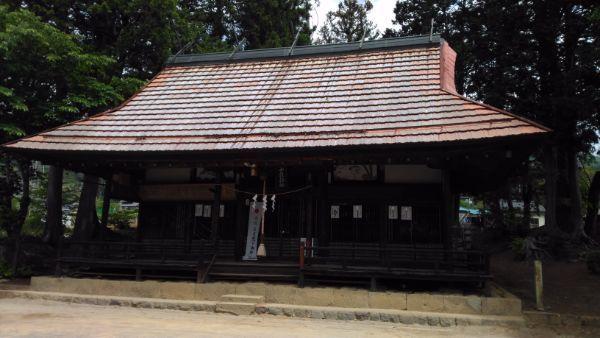 中牧神社拝殿