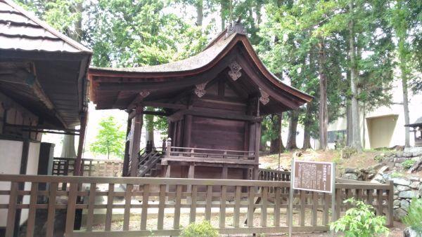 中牧神社本殿