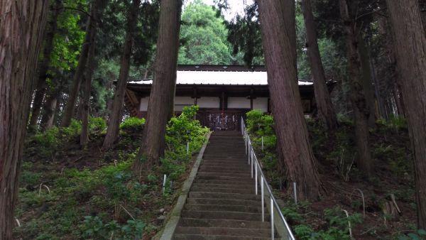 神部神社拝殿