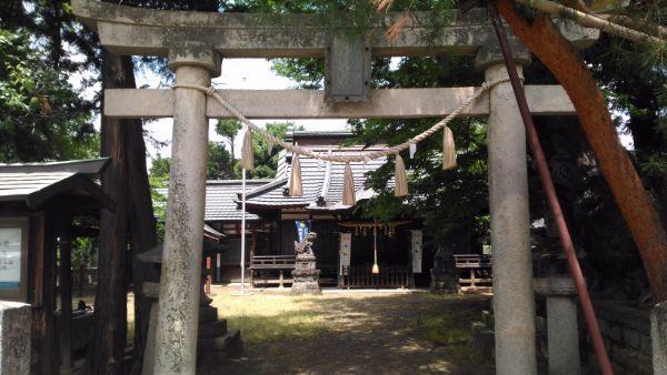 中尾神社入口