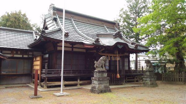 中尾神社拝殿