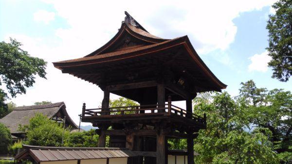 鐘楼門屋根