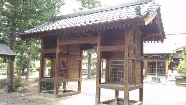 諏訪神社随神門