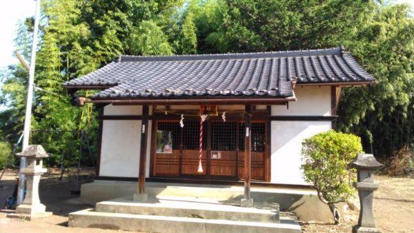 船形神社拝殿