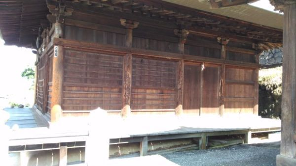 地蔵堂側面
