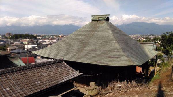 地蔵堂屋根