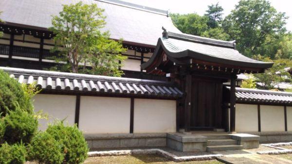 長禅寺本堂中門