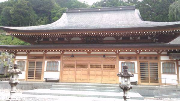 等覚寺本堂