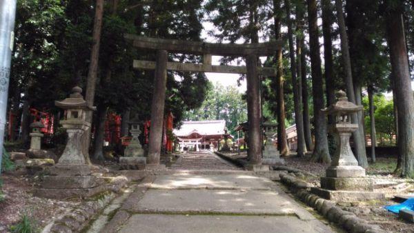坂下神社参道