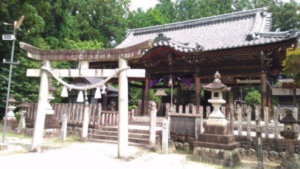 坂下神社拝殿