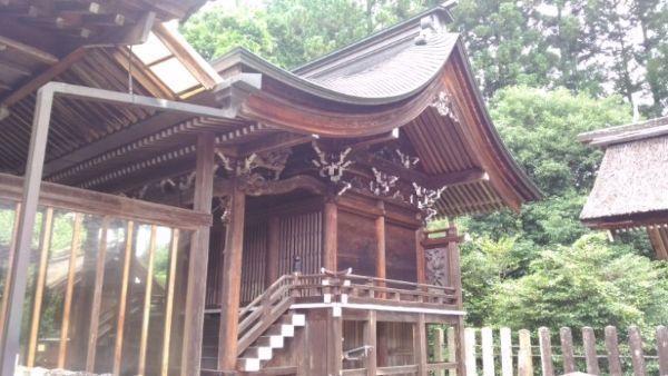 坂下神社本殿