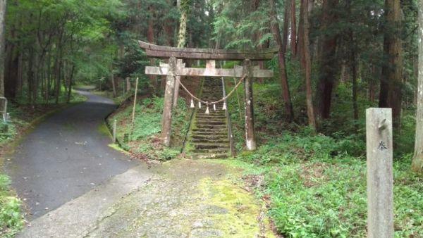 諏訪神社社頭