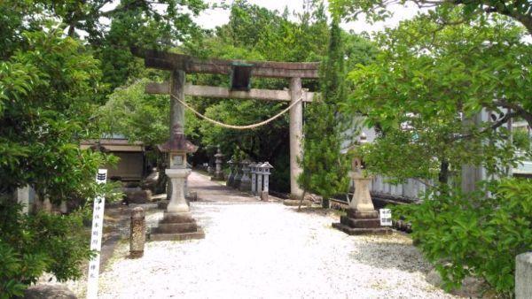 武並神社入口