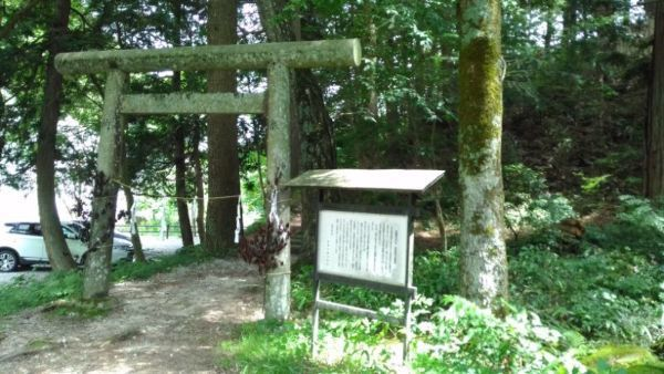 阿智神社奥宮入り口